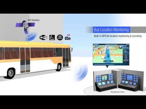 Bus Passenger Information System ARK In-vehicle Series, Advantech(EN)