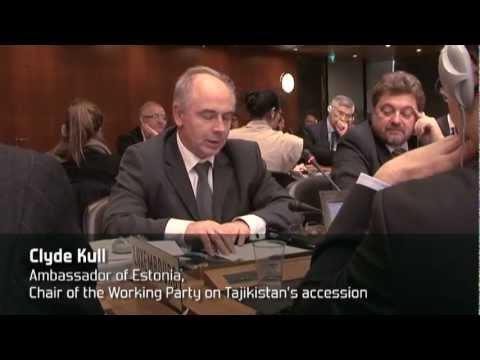 WTO approves Tajikistan's membership
