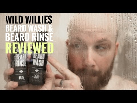 Wild Willies Beard Wash & Rinse Review - YouTube