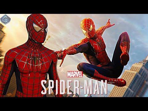 Spider-Man PS4 - RAIMI SUIT FREE ROAM GAMEPLAY
