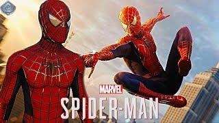 Spider-Man PS4 - RAIMI SUIT FREE ROAM GAMEPLAY!
