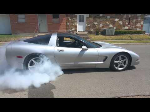 97 ls1 chevy corvette burnout