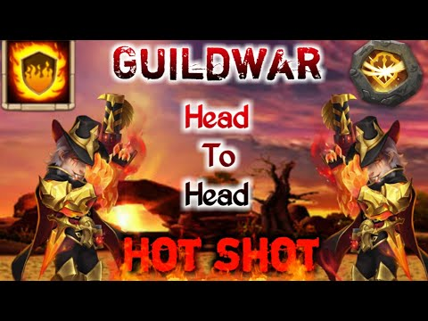 Guildwar | Hot Shot In Action | 10/10 Fg | 9 Survival | Head To Head | Killing Hero | Castle Clash
