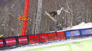 Winter Dew Tour - Kelly Clark - Winning Run, Snowboard Superpipe - Killington 2011