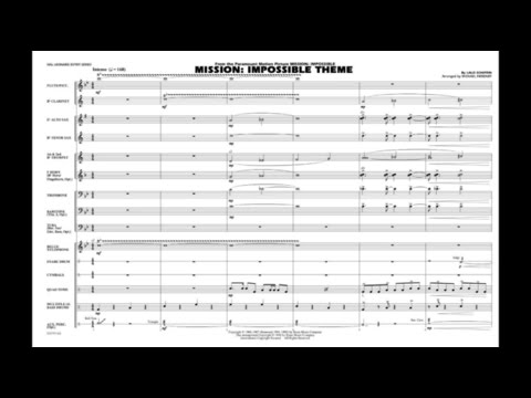 Mission: Impossible Theme by Lalo Schifrin/arr. Michael Sweeney
