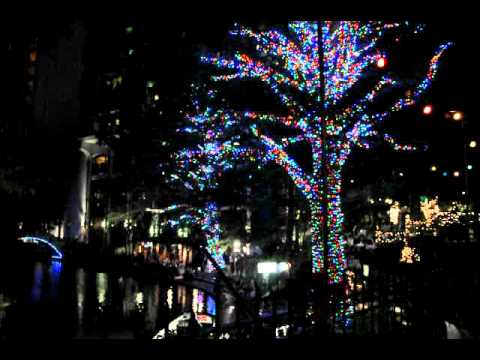 San Antonio Ford >> San Antonio River Walk Christmas Lights - YouTube