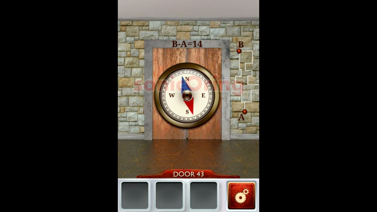 100 doors 2 beta level 43 walkthrough cheats youtube for Door 4 level 21