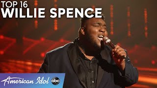 """Emotional! Willie Spence """"Set Fire To The Rain"""" With Amazing Adele Cover! - American Idol 2021"""