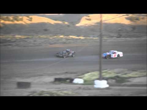 Mark Merlen #53 wins Wild Bills Raceway 305 modified points race at DTR..