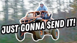 Larry Enticer, Roman Atwood, & Travis Pastrana Are Just Gonna Send It
