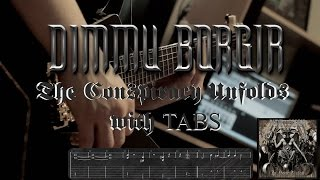 Dimmu Borgir - The Conspiracy Unfolds (guitar cover with tabs)