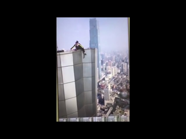 ???????????????Chinese skyscraper climber fatal accident?