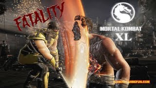 ALL FATALITIES IN SLOW MO AND REVERSE | MORTAL KOMBAT XL (PC 2080 TI MAX SETTINGS 4K)