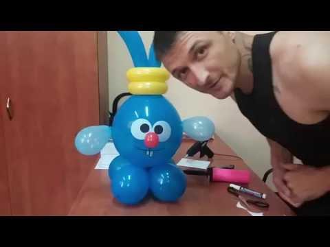 Как сделать смешариков из шариков