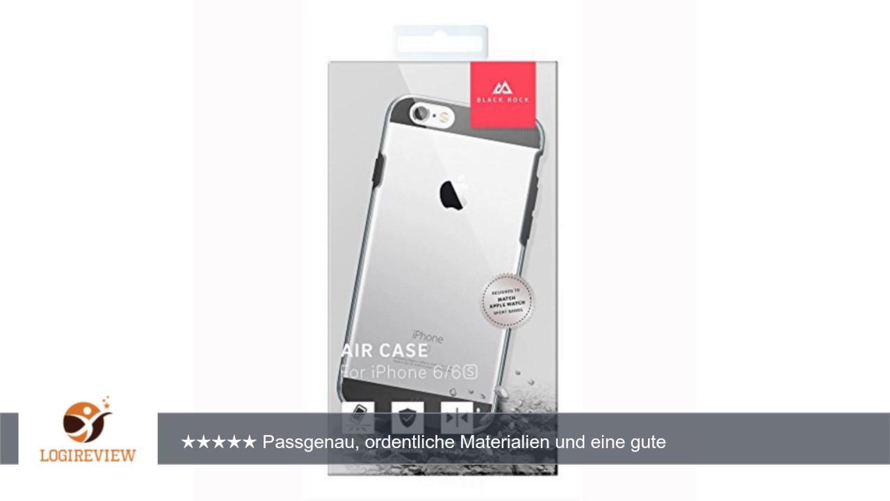 size 40 0cc89 c185a Blackrock 1010AIR02 Air Schutzhülle für Apple iPhone 6/6s schwarz/klar
