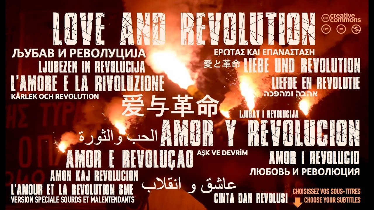 LOVE AND REVOLUTION with English, Spanish, German and other subtitles