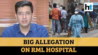 '45% error rate in Covid tests at RML hospital': AAP demands strict action