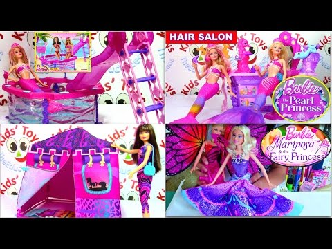 BARRBIE: Doll and Barbie Playset Compilation - Kids' Toys