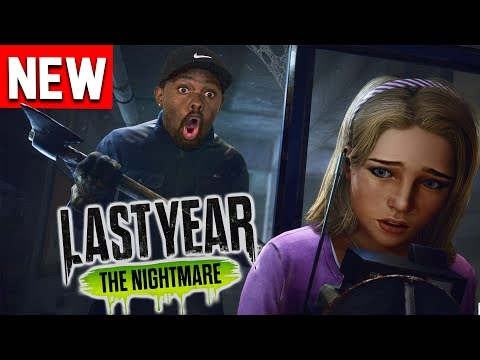 *NEW* FUN Multiplayer Horror Game! Last Year: The Nightmare Gameplay