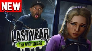 *NEW* FUN Multiplayer Horror Game! Last Year: The Nightmare Gameplay