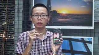 tinhtevn - thu ghi am bang micro sennheiser clipmic digital tai nghe iphone va mic tich hop