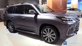 2018 Lexus LX570 - Exterior and Interior Walkaround - 2018 New York Auto Show
