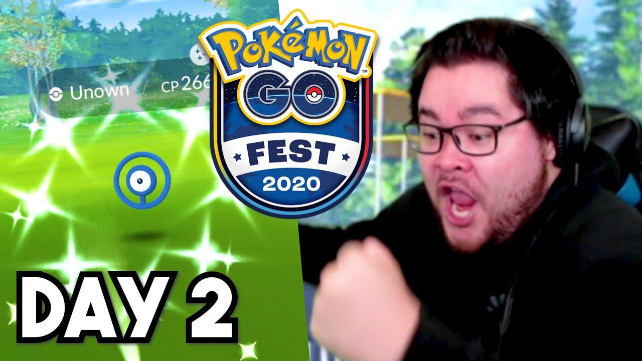 ALL Pokémon GO Fest 2020 Shiny Catches! [Day 2]