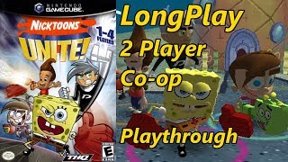 Nicktoons Unite! - Longplay 2 Player Co-op Full Game Walkthrough (No Commentary) Gamecube, Ps2, Xbox