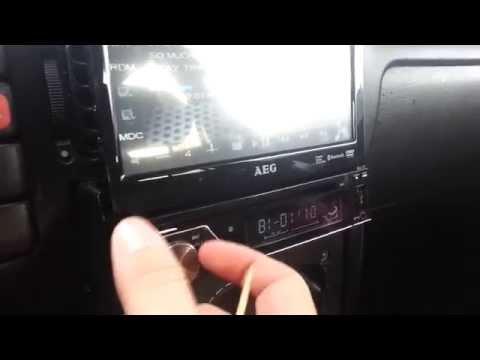 Авто радио с DVD AEG AR 4026 DVD/BT 7