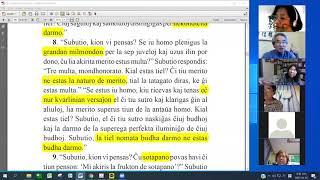 03 Studrondo pri La Diamanta Sutro | 에스페란토 금강경 8-10장 공부 (zoom)