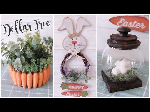 Dollar Tree DIY Farmhouse Easter Decor