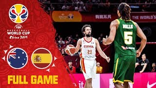 2OT as Australia & Spain clash in the Semi-Final! - Full Game - FIBA Basketball World Cup 2019