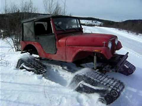 Jeep Cj5 Mattracks 2 Youtube