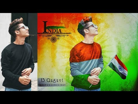 PicsArt 15 August Best Photo Editing 2018   Independence Day Editing In PicsArt   Android App