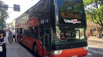 Onni Bus Helsinki-Turku【Onnibus Helsingistä Turkuun】