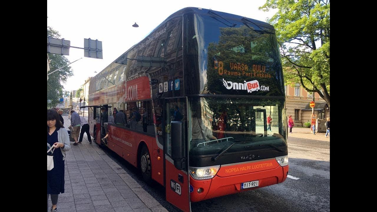 Onni Bus Helsinki-Turku【Onnibus Helsingistä Turkuun】 - YouTube