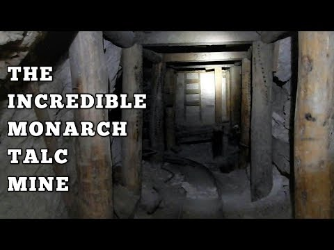 Exploring The Monarch Talc Mine, Death Valley, California