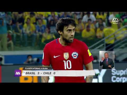 La Roja Cae Ante Brasil Y Queda Fuera Del Mundial - Ahora Noticias Central/10 De Octubre