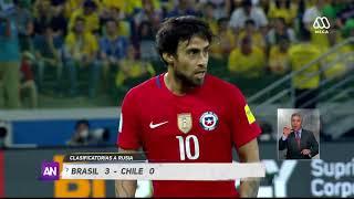La Roja cae ante Brasil y queda fuera del Mundial - Ahora No...