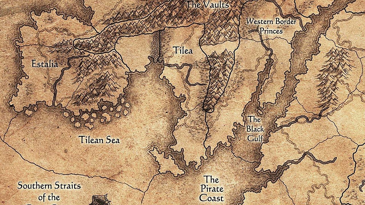 Warhammer Map The Old World Fantasie Karte Fantasie Weltkarte