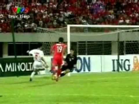 Singapore vs Viet Nam 0-1 Affcup suzuki 2008