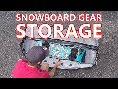 Snowboard Gear - Storage, Cleaning & Repair