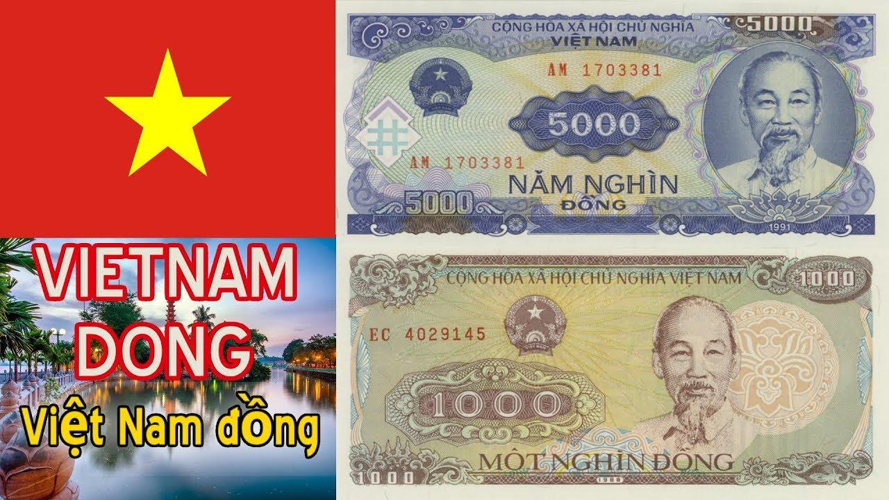 New Vietnamese 1000 5000 Dong