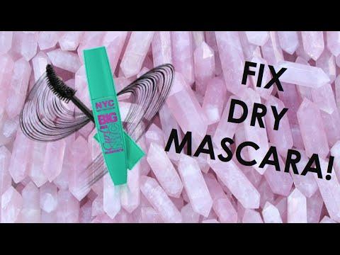 How to make dry mascara wet again