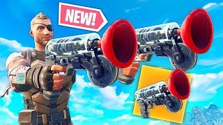 NEW GRAPPLER GUN COMING SOON IN FORTNITE BATTLE ROYALE!!