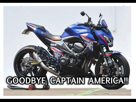 GOODBYE CAPTAIN AMERICA!!