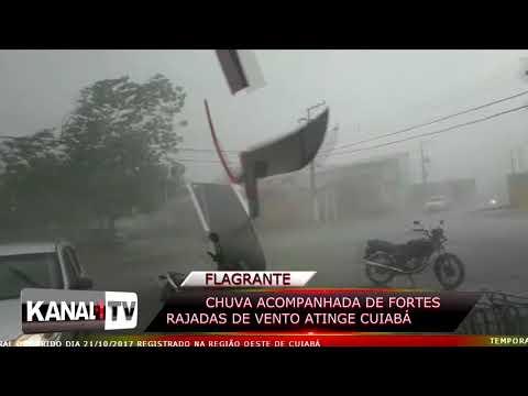 FLAGRANTE : Temporal em Cuiabá-MT / KANAL1 WEB TV 21-10-2017