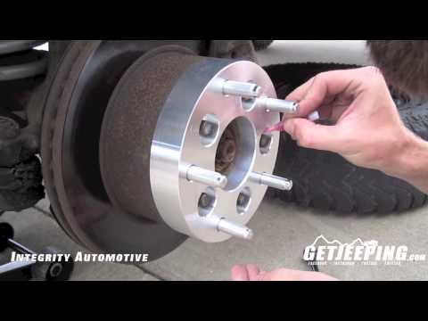 How to: Install wheel adapters - GetJeeping