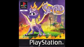 SPYRO THE 20 YEAR OLD DRAGON ORIGINAL PS GAME