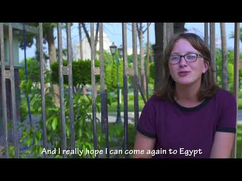 "AFS Egypt hosts ""Fina"" exchange student from Germany 2016-2017"